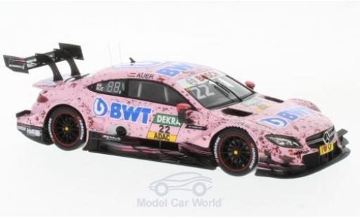Mercedes Classe C DTM 1/43 Spark AMG C 63 DTM No.22 -AMG DTM Team HWA BWT DTM 2017 L.Auer miniature