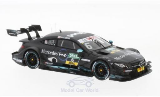 Mercedes Classe C DTM 1/43 Spark AMG C 63 No.6 -AMG Team HWA 2017 R.Wickens diecast model cars