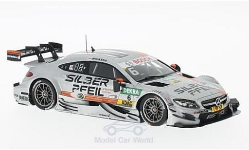 Mercedes Classe C DTM 1/43 Spark AMG C63 No.6 -AMG Team HWA 2016 R.Wickens diecast model cars