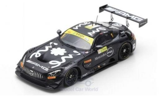 Mercedes AMG GT 1/43 Spark 3 No.1 AMG Team GruppeM Racing Fia GT World Cup Macau 2018 E.Mortara miniature
