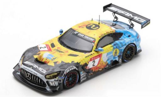 Mercedes AMG GT 1/43 Spark 3 No.2 AMG Team HRT 24h Nürburgring 2020 H.Haupt/Y.Buurman/N.Bastian/P.Ellis miniature