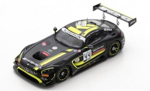 Mercedes AMG GT 1/43 Spark 3 No.44 -AMG Team Strakka Racing 24h Spa 2019 T.Vautier/L.Williamson/G.Paffett diecast model cars