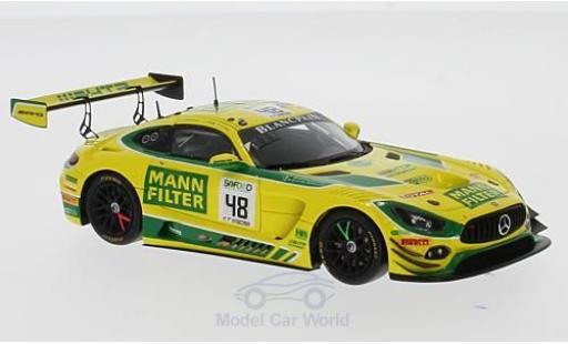 Mercedes AMG GT 1/43 Spark 3 No.48 Mann-Filter Team HTP Motorsport 24h Spa 2017 I.Dontje/P.Assenheimer/K.Heyer miniature