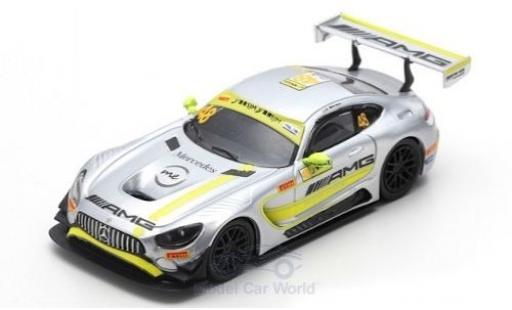 Mercedes AMG GT 1/64 Spark 3 No.48 -AMG Team Driving Academy Fia GT World Cup Macau 2017 E.Mortara diecast
