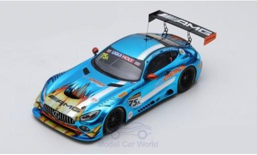 Mercedes AMG GT 1/18 Spark 3 No.75 -AMG Team SunEnergy1 Racing 12h Bathurst 2018 K.Habul/T.Vautier/J.Whincup/R.Marciello diecast