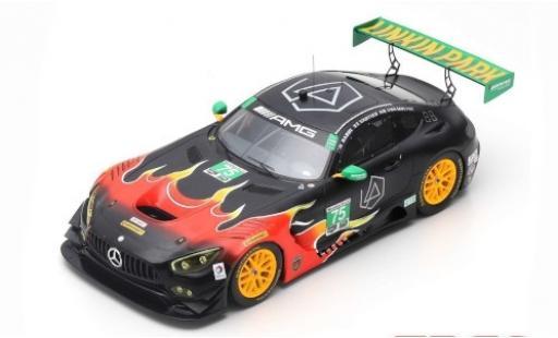 Mercedes AMG GT 1/18 Spark 3 No.75 SunEnergy1 Racing Petit Le Mans 2017 T.Vautier/K.Habul/D. Von Moltke miniatura
