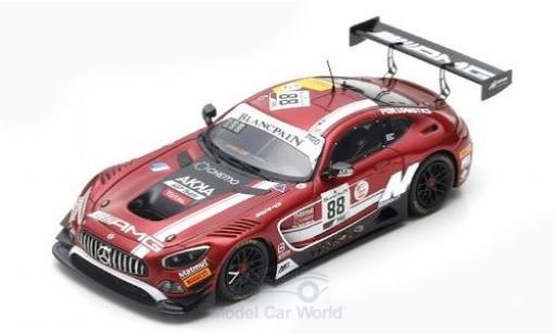 Mercedes AMG GT 1/43 Spark 3 No.88 -AMG Team Akka ASP 24h Spa 2019 V.Abril/F.Schiller/R.Marciello diecast