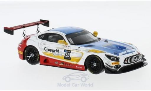 Mercedes AMG GT 1/43 Spark 3 No.888 -AMG Team GruppeM Racing 10H Suzuka 2018 T.Vautier/M.Engel/R.Marciello miniature