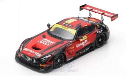 Mercedes AMG GT 1/43 Spark 3 No.888 AMG Team GruppeM Racing Fia GT World Cup Macau 2018 M.Engel miniature