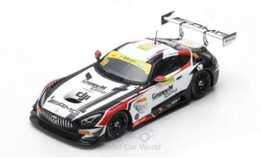 Mercedes AMG GT 1/43 Spark 3 No.999 AMG Team GruppeM Fia GT World Cup Macau 2018 R.Marciello miniature