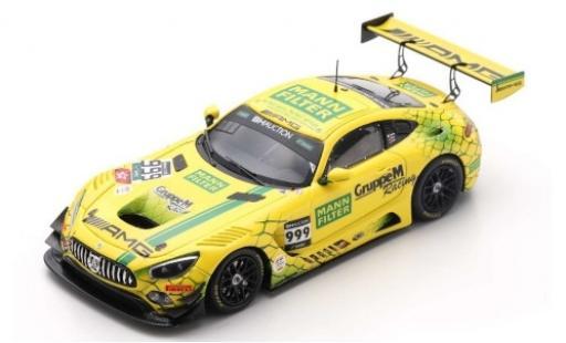 Mercedes AMG GT 1/43 Spark 3 No.999 -AMG Team GruppeM Racing Mann Filter 10H Suzuka 2019 M.Buhk/M.Engel/R.Marciello coche miniatura