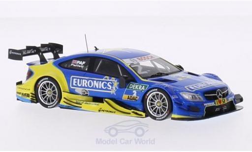 Mercedes Classe C DTM 1/43 Spark C63 AMG DTM No.2 Euronics DTM G.Paffett diecast