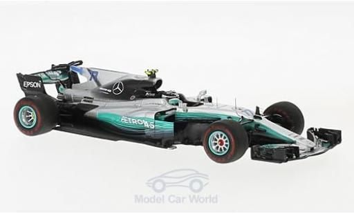Mercedes F1 1/43 Spark W08 EQ Power+ No.77 AMG Petronas Team Formel 1 GP Australien 2017 V.Bottas miniatura