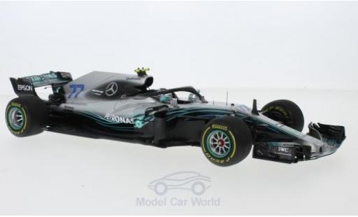 Mercedes F1 1/18 Spark W09 EQ Power+ No.77 AMG Petronas Motorsport Formel 1 GP China 2018 V.Bottas miniature