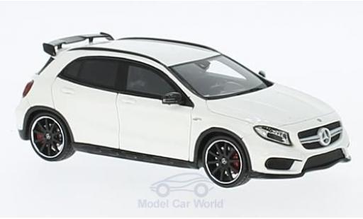 Mercedes Classe GLA 1/43 Spark GLA45 AMG blanche 2015 miniature
