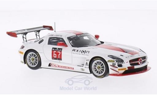Mercedes SLS 1/43 Spark AMG GT3 No.67 GDL Motorsport 24h Spa 2014 G.De Lorenzi/N.Farmer/K.Liam Lim/J.C.Perrin miniature