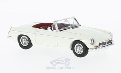 MG B 1/43 Spark Convertible blanche RHD 1966 miniature