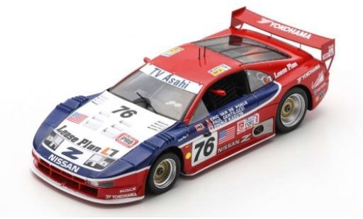 Nissan 300 1/43 Spark ZX No.76 Lease Plan 24h Le Mans 1994 P.Gentilozzi/S.Kasuya/E.van de Poele diecast model cars