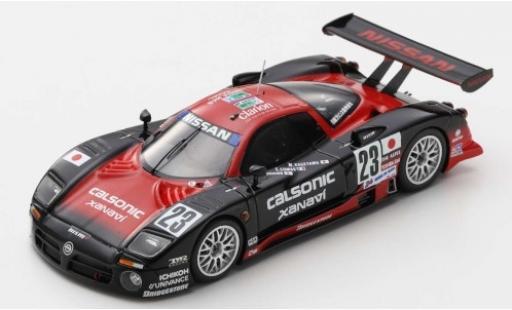 Nissan R390 1/43 Spark GT1 No.23 Calsonic 24h Le Mans 1997 K.Hoshino/E.Comas/M.Kageyama miniature