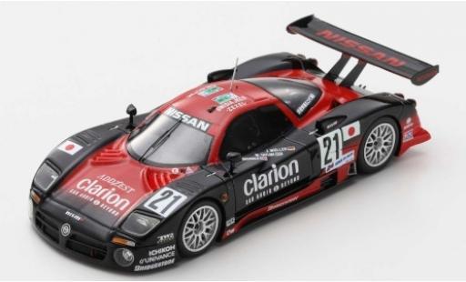 Nissan R390 1/43 Spark GT1 RHD No.21 Motorsport 24h Le Mans 1997 J.Müller/W.Taylor/M.Brundle miniature