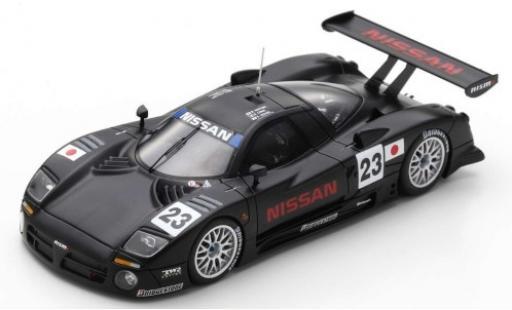 Nissan R390 1/43 Spark GT1 RHD No.23 Motorsport 24h Le Mans 1997 Vor-Qualifikation K.Hoshino/E.Comas/M.Kageyama miniature