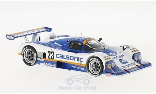 Nissan R88 1/43 Spark C No.23 Calsonic 24h Le Mans 1988 K.Hoshino/T.Wada/T.Suzuki miniature
