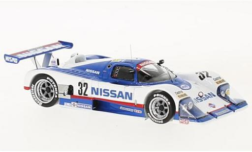Nissan R88 1/43 Spark C No.32 24h Le Mans 1988 A.Grice/M.Wilds/W.Percy diecast model cars
