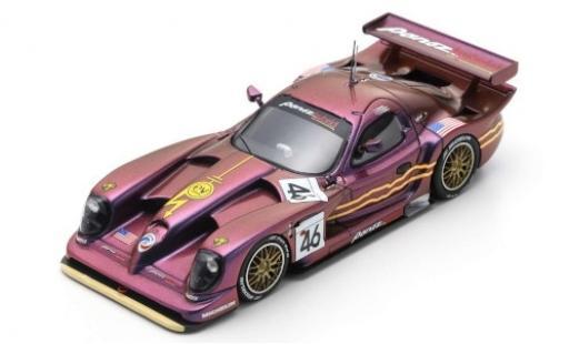 Panoz Esperante 1/43 Spark GTR-1 Q9 Hybrid No.46 Motorsports Inc. Sparky 24h Le Mans 1998 J.Weaver/P.McCarthy/J.O Connell diecast model cars