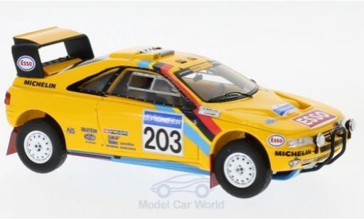 Peugeot 405 1/43 Spark T16 Grand Raid No.203 Rallye Paris Dakar 1990 A.Vatanen/B.Berglund miniature
