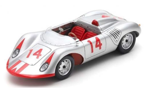Porsche 718 1/43 Spark RS Antheater No.14 Nassau 1961 B.Holbert miniature