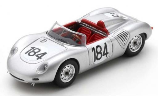 Porsche 718 1/43 Spark RS60 No.184 Targa Florio 1960 J.Bonnier/H.Herrmann diecast model cars