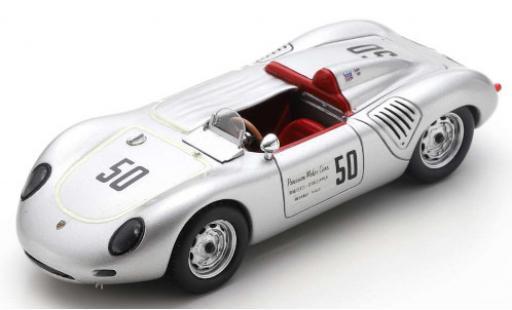 Porsche 718 1/43 Spark RS60 No.50 SCCA Riverside 1960 K.Miles diecast model cars