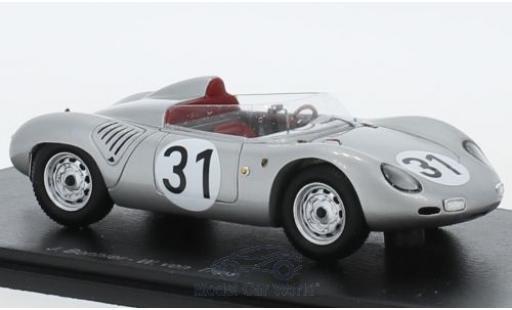 Porsche 718 1959 1/43 Spark RSK No.31 24h Le Mans 1959 J.Bonnier/W.von Trips miniature