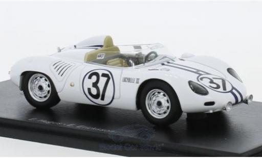 Porsche 718 1/43 Spark RSK No.37 24h Le Mans 1959 E.Hugus/E.Erickson miniature