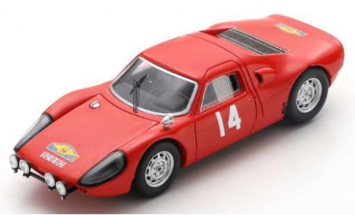 Porsche 904 1965 1/43 Spark GTS No.14 Rallye des Routes du Nord E.Meert/Pedro diecast model cars