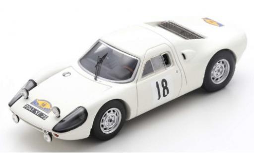 Porsche 904 1/43 Spark GTS No.18 Rallye des Routes du Nord 1966 J.Schlesser/A.Schlesser diecast model cars