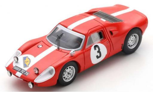 Porsche 904 1/43 Spark GTS No.3 Rallye des Routes du Nord 1966 F.Dumousseau/M.Roques diecast model cars