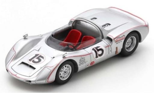 Porsche 906 1/43 Spark No.15 Wetsons Drive-In USRRC Bridgehampton 1966 H.Wetson miniature