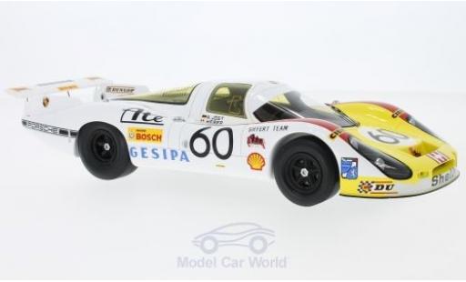 Porsche 908 1972 1/18 Spark /01 LH No.60 24h Le Mans 1972 R.Jöest/M.Casoni/M.Weber miniature