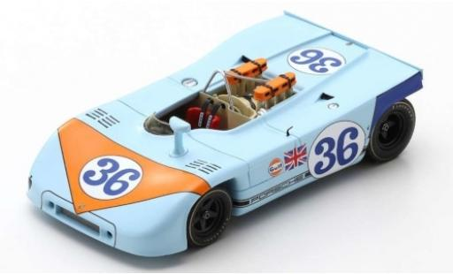 Porsche 908 1970 1/43 Spark /03 RHD No.36 J. W. Automotive Engineering Targa Florio B.Waldegard/R.Attwood modellino in miniatura