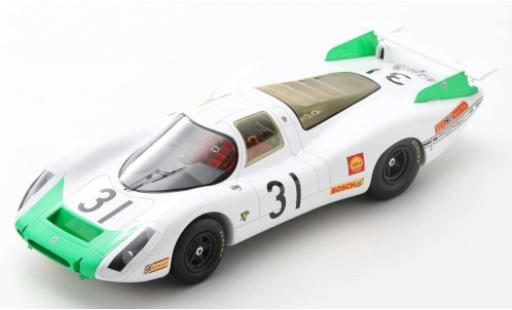 Porsche 908 1968 1/18 Spark No.31 System Engineering 24h Le Mans J.Siffert/H.Herrmann diecast model cars