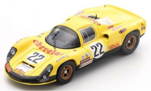 Porsche 910 1/43 Spark No.22 24h Le Mans 1973 R.Touroul/J.P.Rouget modellino in miniatura