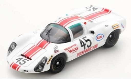 Porsche 910 1/43 Spark No.45 24h Le Mans 1968 J.-P.Hanrioud/A.Wicky diecast model cars