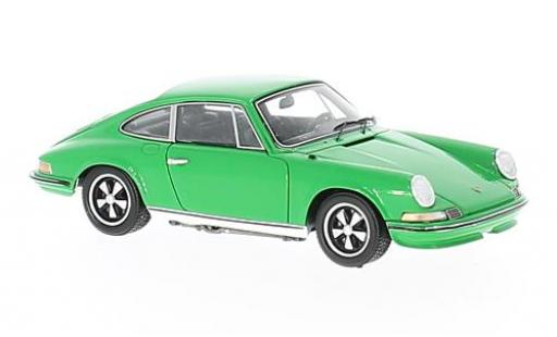 Porsche 911 1/43 Spark 2.4S green 1972 diecast model cars