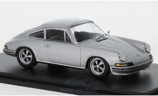 Porsche 911 1/43 Spark 2.4S grey 1973 diecast model cars