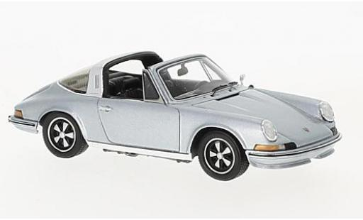 Porsche 911 1/43 Spark 2.4S Targa grey 1973 diecast model cars