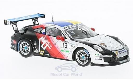 Porsche 991 SC 1/43 Spark 911  Carrera Cup No.13 Carrera Cup Italia 2016 C.Ledogar diecast model cars