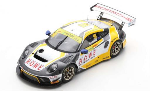 Porsche 992 GT3 R 1/18 Spark 911 (991) No.98 ROWE Racing Fia GT World Cup Macau 2019 E.Bamber diecast model cars