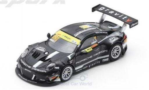 Porsche 911 1/64 Spark (991) GT3 R No.991 Craft Bamboo Racing Fia GT World Cup Macau 2018 M.Jaminet miniatura