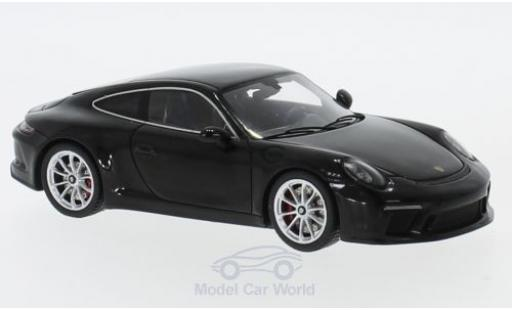 Porsche 991 GT3 1/43 Spark 911 ( II) Touring Package black 2018 diecast model cars